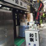 和楽@新橋で、和楽定食(ミックスフライ+刺身で千円)を食べてきた。