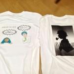 ゲームマーケット当日に着るオリジナルTシャツを作ってみた。