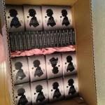 印刷所から「娘は誰にもやらん」「名探偵の勘」が200セットずつ届きました!