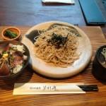 ランチパスポートを使って、ミニ丼セット@蓼科庵(たてしなあん)を940円→500円で食べてきた