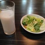 ランチパスポートを使って、天然居(てんねんきょ)で「汁なし担々麺(800円→500円)」を食べてきた。