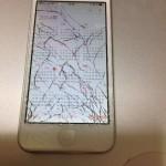 フロントガラスが割れたiPhone5を、渋谷の怪しげな修理屋で直してもらった!(総額9千円)
