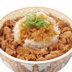 「おろしポン酢牛丼@すき家」を食べてみた。
