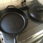 LODGE(ロッジ)のスキレット(鋳鉄製の分厚いフライパン)を買って、ステーキを焼いてみた!