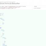 長すぎるエクセルの数式(if文の中にif文とか…。)は、このサイトで整形してもらうと分かりやすくなる!
