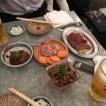 馬肉専門の居酒屋「馬喰ろう」@西新橋に飲みに行ってきた!