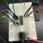 デジタルIC(74HC32AP)で論理回路(OR回路)の実験。入力その1がONの時だけ出力もONになる!なんで?!
