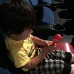 梅雨空の中、子供を連れてアンパンマンの映画を見てきた。そして奥さんは久々に自由な一日を満喫!