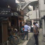 アナゴ専門店「銀座ひらい」で、限定20食のランチ箱めし(1000円)+肝吸い(300円)を食べてきた。