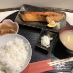 酒処 はづき@虎ノ門の「焼き鮭定食850円」