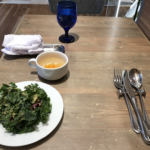 オーストラリア料理店「64Barrack st(シックスティーフォーバラック ストリート)」@西新橋で、限定20食のオーストラリア産牛スジ入りハンバーグ(1000円)を食べた
