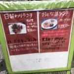 キッチンVAN@新橋のハーブチキンコンフィ800円。外側がカリッ!身は柔らかくて美味しかった。