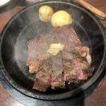 2日連続でいきなりステーキ、千円クーポンを使って1080円→80円でワイルドステーキを食す!