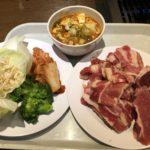 糖質制限ランチ!カルネステーション@新橋で牛カルビ&野菜を、ひたすら食う!