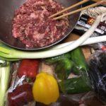 牛肉が安かったので、野菜炒めだけを食べて糖質制限