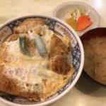あけぼの@交通会館@有楽町で、揚げたてカツ丼980円。交通会館ランチ四天王は、14時を回っても普通に行列ーー!!