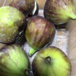 秋になってくると果物が豊富になってくる。1パック税別299円イチジクの皮を向いてカッティング