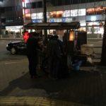 脂肪少なめ、化調多め!虎ノ門の屋台ラーメン、幸っちゃん(さっちゃん)でメンマラーメン900円を食べてみた。