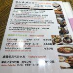 チュニジアの餃子(ブリック)セット660円@ひつじや@四谷、珍しい料理&インドカレーが格安で食べられるランチの穴場!