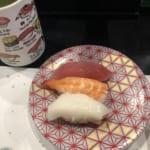 赤酢を使った神保町で唯一の回転寿司「もり一(もりいち)」 ランチは基本的に税込162円の皿ばかり。3貫のった皿もあって、お得感あり!