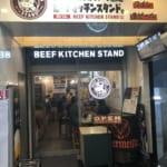 ビーフスタンドキッチン@歌舞伎町店。味よりも店内の騒がしさにビックリ!
